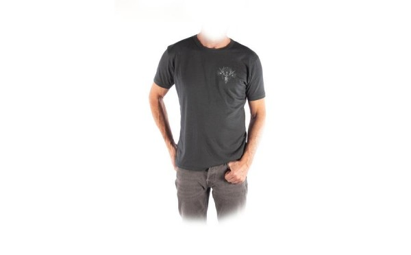 WHYTE T-SHIRT CHARCOAL Small