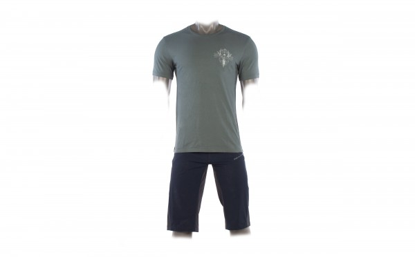 WHYTE T-SHIRT FOREST GREEN Small